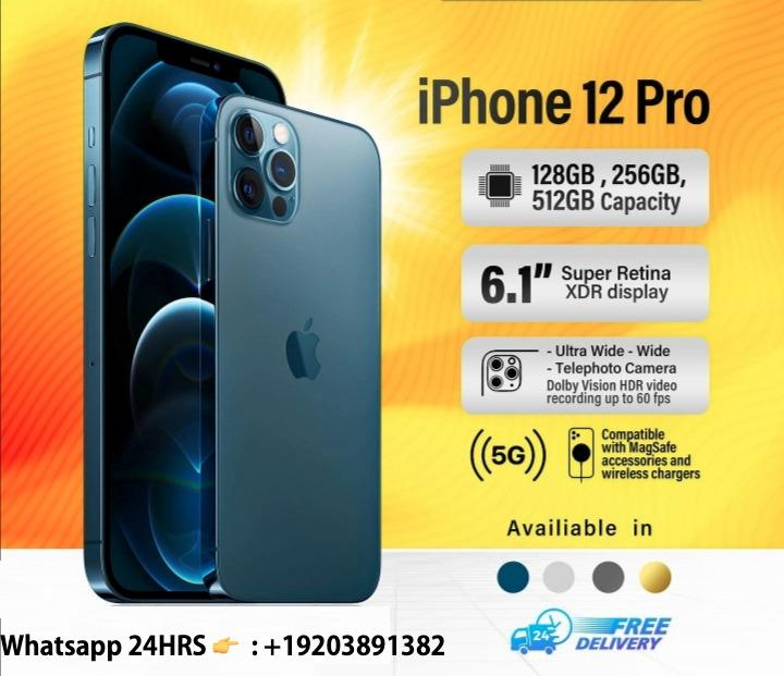 New Sealed iPhone 12 Pro  + Extra free AirPod pro (BE AMONG THE FIRST USERS IN THE WORLD)