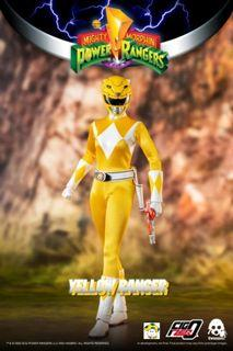 Pre-Order for 1/6th Scale Collectible Figure - Mighty Morphin Power Rangers - Yellow Ranger
