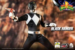 Pre-Order for 1/6th Scale Collectible Figure - Mighty Morphin Power Rangers - Black Ranger