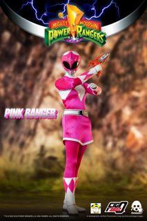 Pre-Order for 1/6th Scale Collectible Figure - Mighty Morphin Power Rangers - Pink Ranger