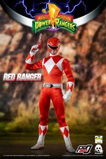 Pre-Order for 1/6th Scale Collectible Figure - Mighty Morphin Power Rangers - Red Ranger