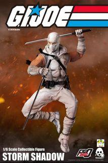 Pre-Order for 1/6th Scale Collectible Figure - G.I. Joe - Storm Shadow