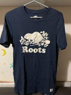 Roots基本款短T