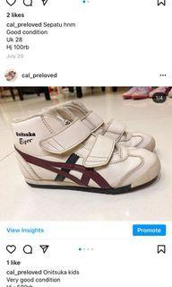 Sepatu onitsuka anak original