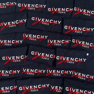 STEAL Givenchy 20FW Red Signature Logo Tee