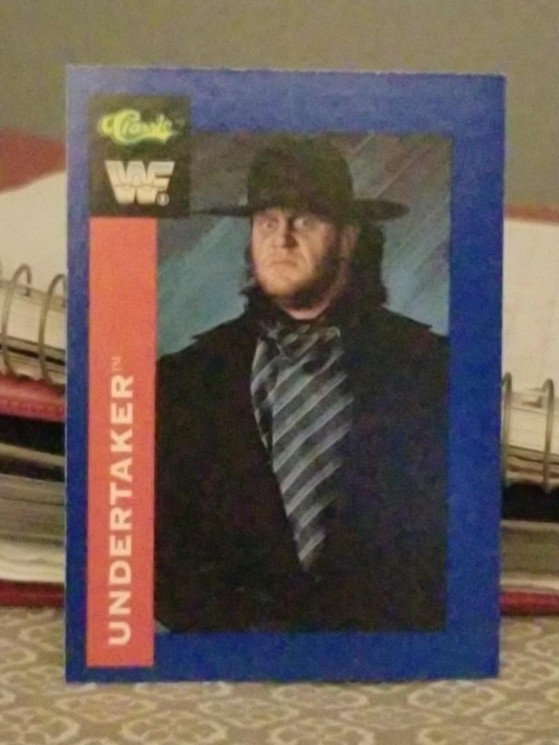 Undertaker rookie card 1991