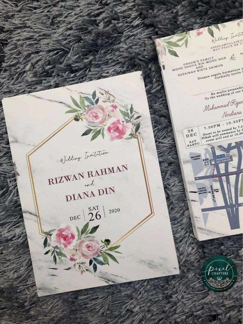 Wedding Card Design Kad Kahwin 2020 Collection Violett Eleonie Wedding