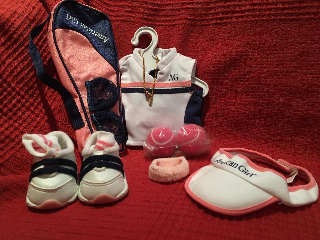 American Girl doll, doll clothing/activity sets, doll accessories
