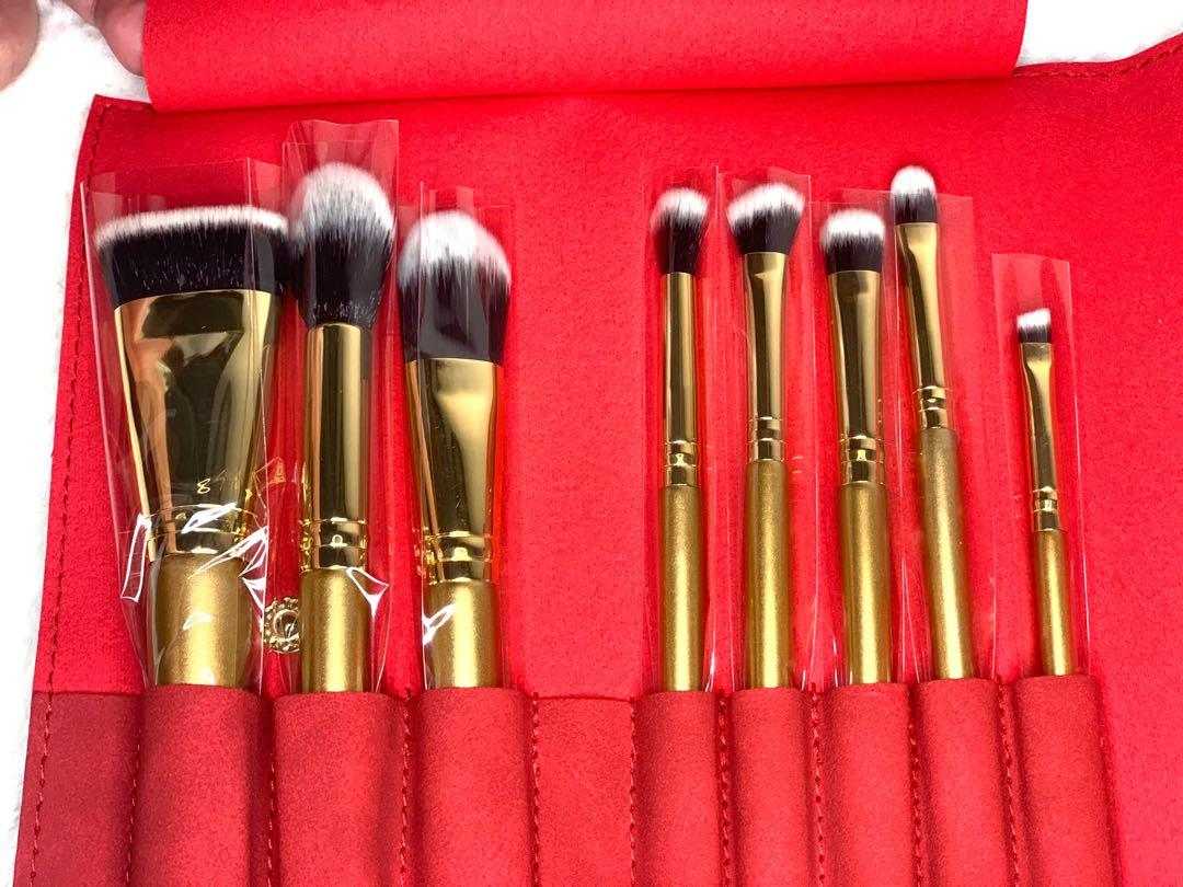 BRAND NEW! LUXIE | Glitter and Gold Brush Set