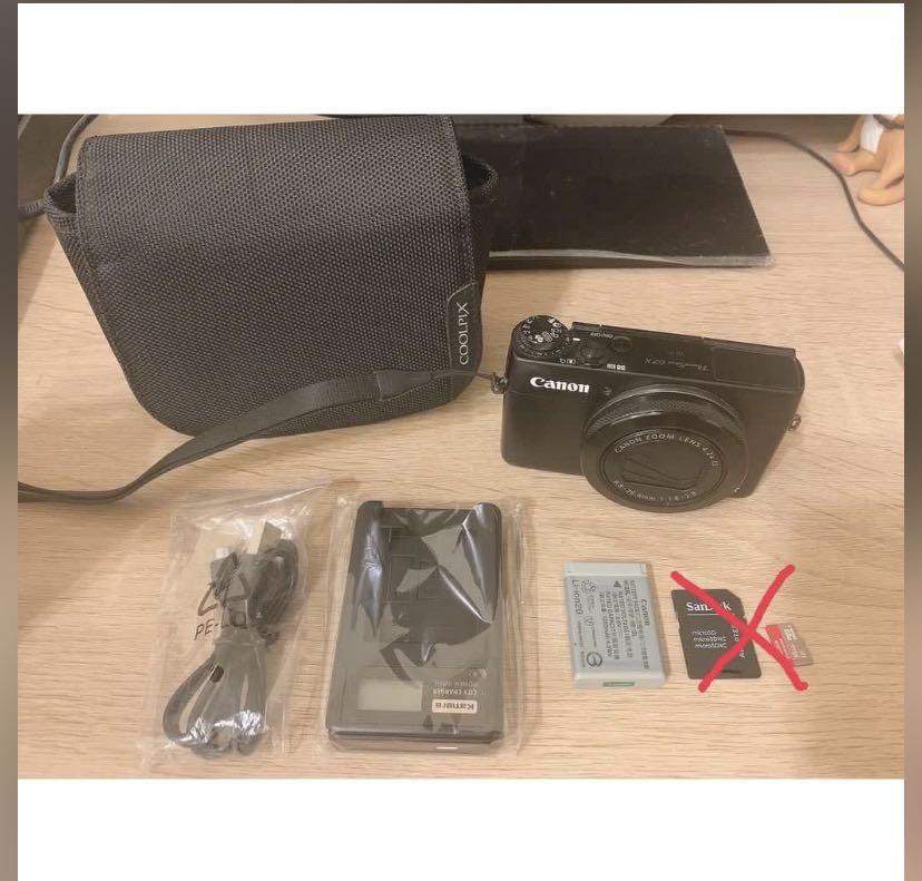 近全新canon 佳能 powershot G7X 類單眼相機 錄影 攝影 桃園區桃鶯路可面交