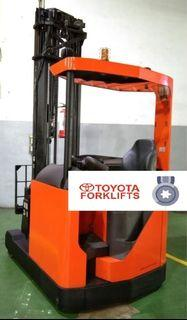 CERTIFIED USED (Silver) Toyota BT 1,600kgs 1.6tons Reach Truck