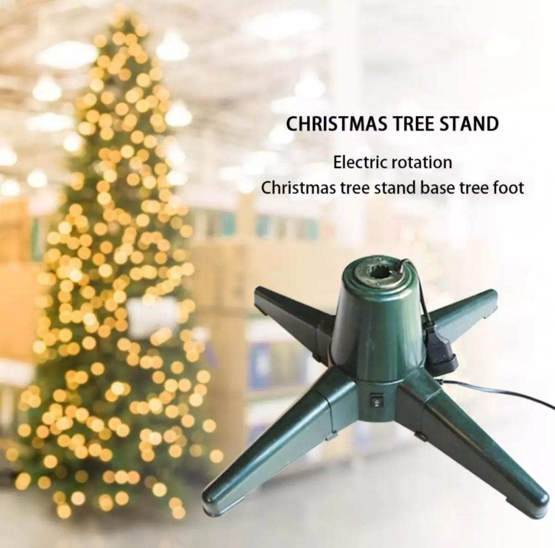 Christmas Tree Rotating Base Stand Furniture Others On Carousell