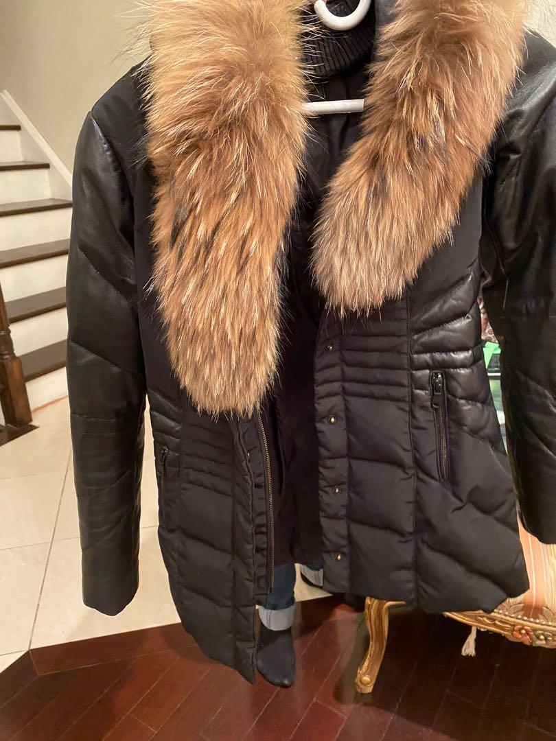 Danier Leather Winter Jacket (looks like Mackage)