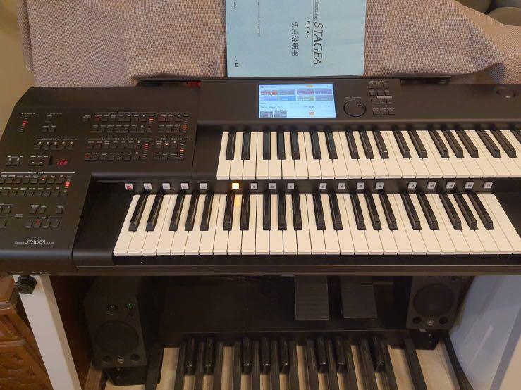 山葉ELC-02攜帶式雙層電子琴