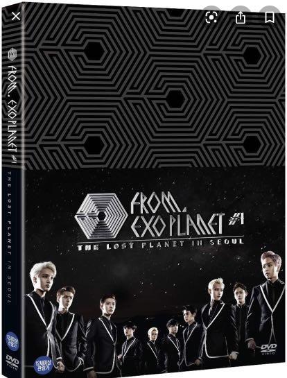 EXO一巡演唱會DVD