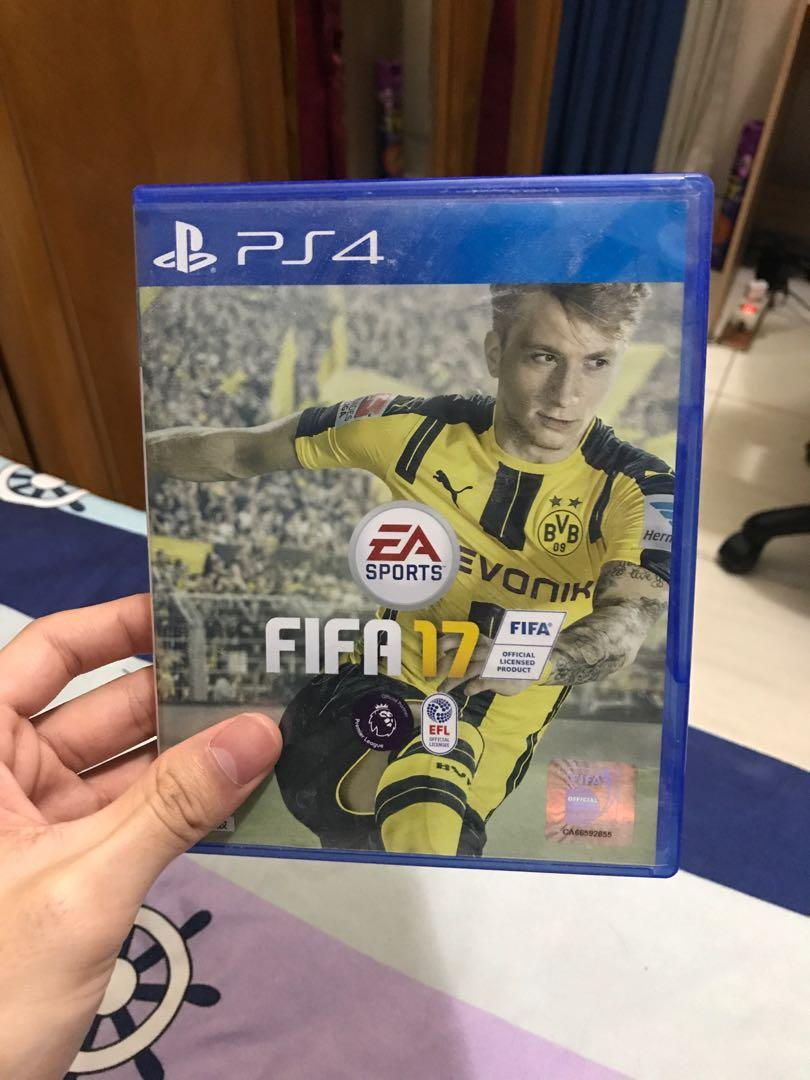 FIFA 17 PS4 second very good condition