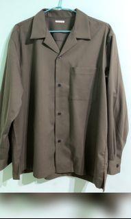 Gu開領,古巴領軍綠襯衫