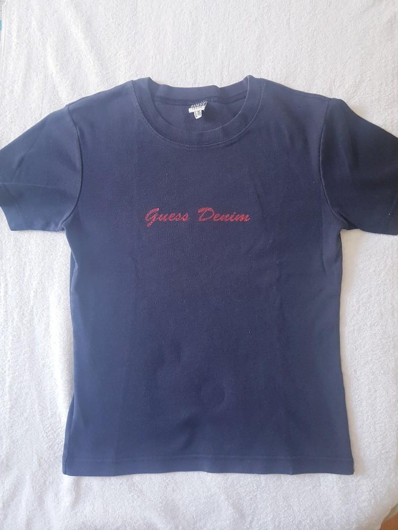 Guess Denim logo tshirt