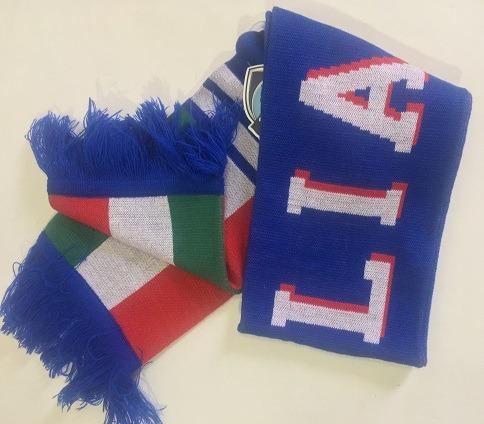 Italy ''Italia'' Soccer Scarf