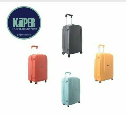 Kenapa harus pinjam koper