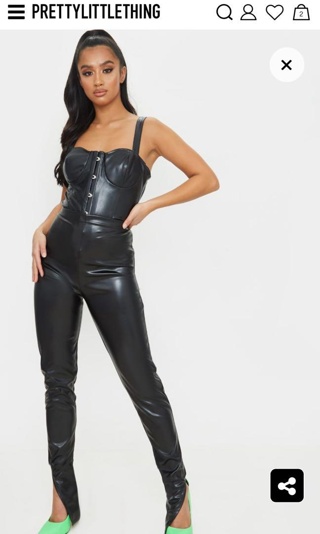 LEATHER LEGGINGS-PRETTY LITTLE THING