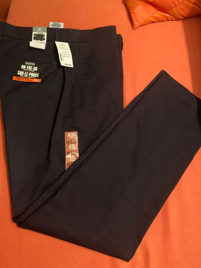 Mens navy pants new