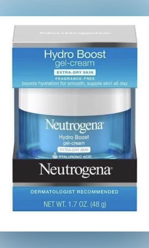 Neutrogena hydro boost gel cream (extra dry skin)