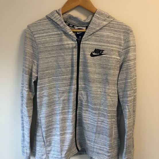 Nike Knit zip up hoodies