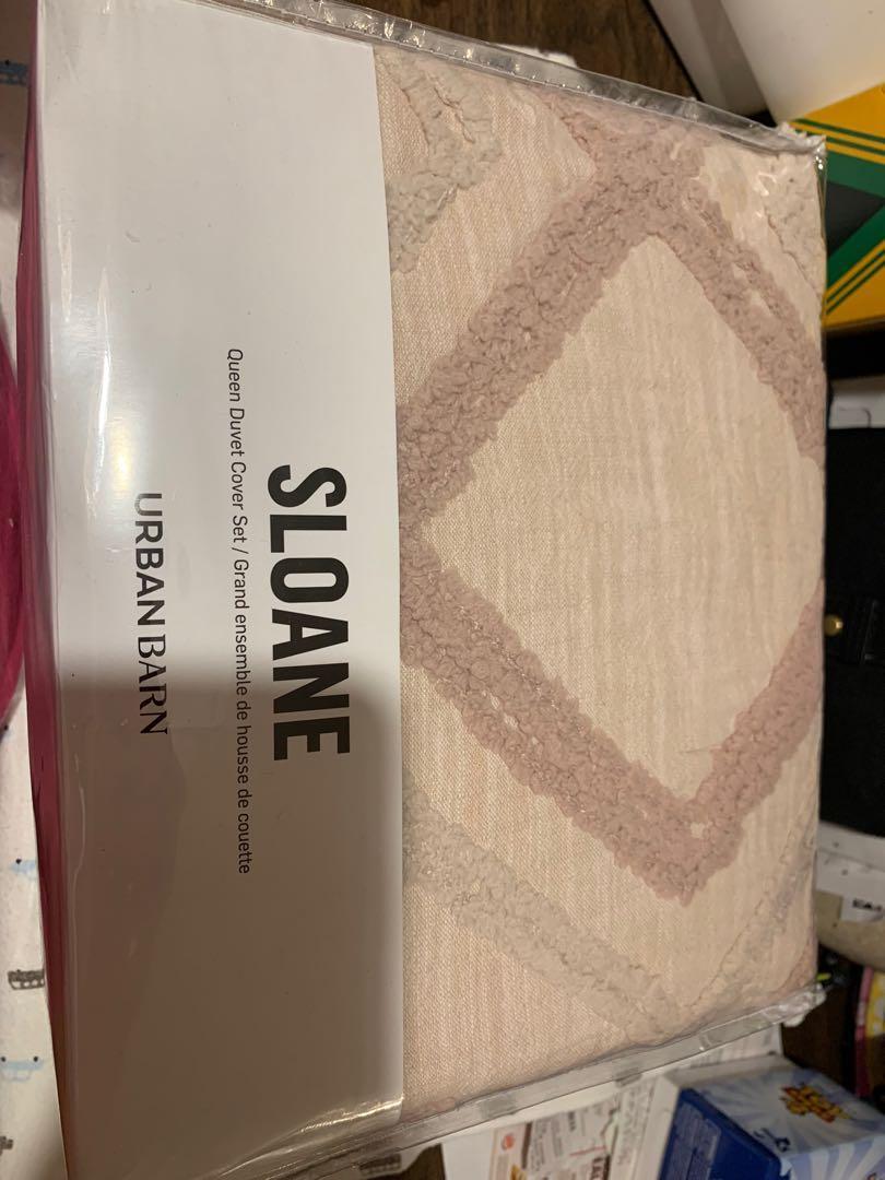 Queen size duvet cover set
