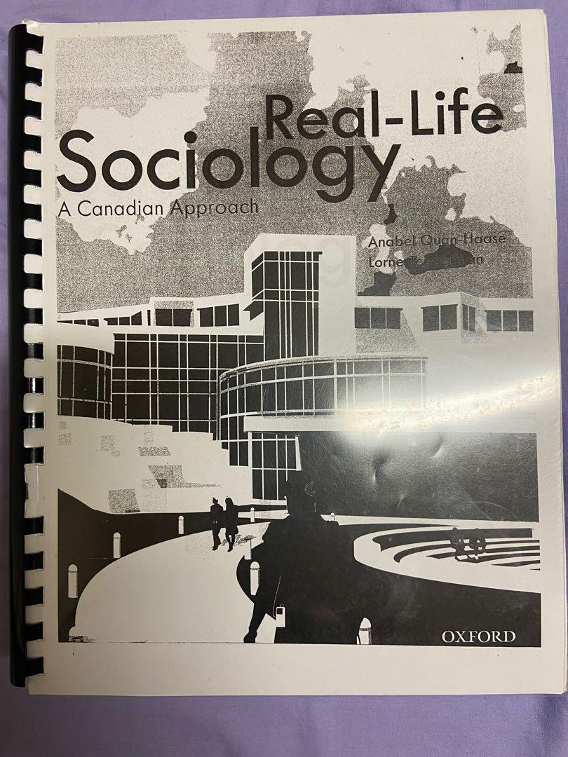 Real life sociology (A Canadian approach)