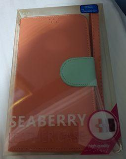 Seaberry Leather Case for Samsung Galaxy S5. Brand new in box and in excellent condition. Didn't  get to use it cos upgraded my phone.