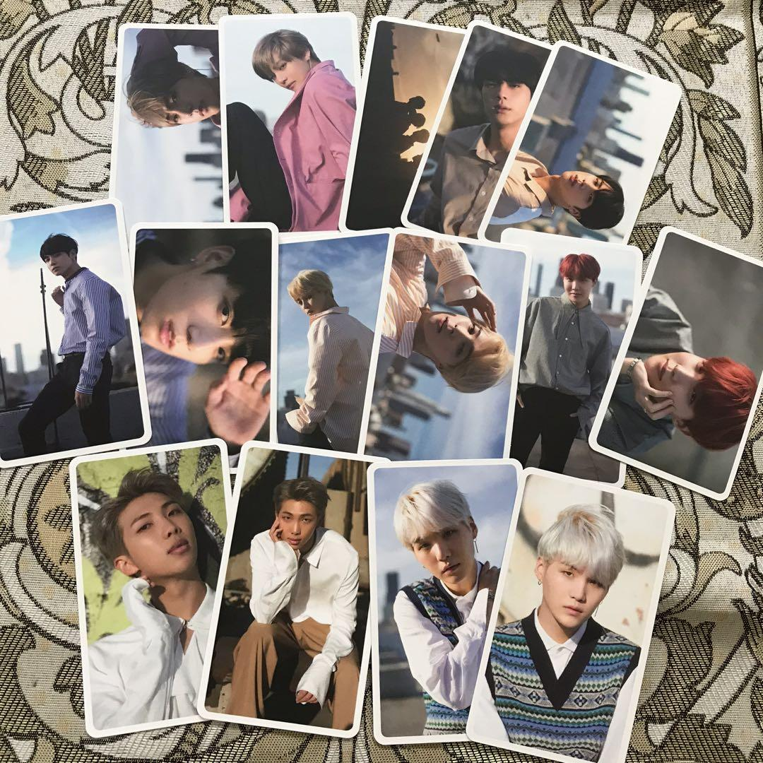 (SHARING) BTS DOUBLESIDED PHOTOCARD DICON MAGAZINE