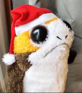 Star Wars Christmas Porg stuffed toy