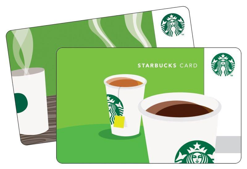 Starbucks gift cards $15 and $10. For $21