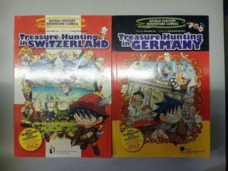 World History Adventure Comics