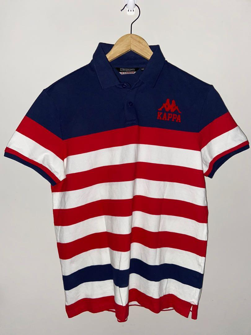 Vintage Striped Kappa polo shirt