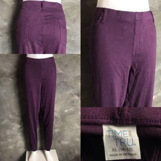 Violet Garterized Pants
