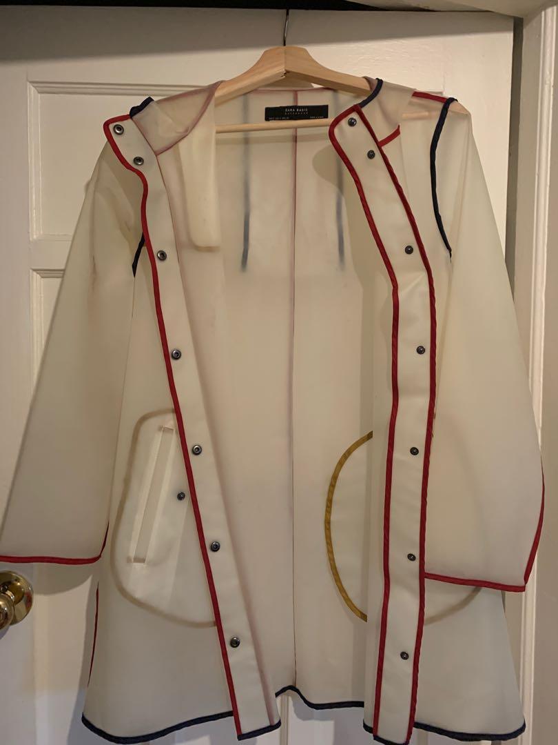 Zara rain jacket size s