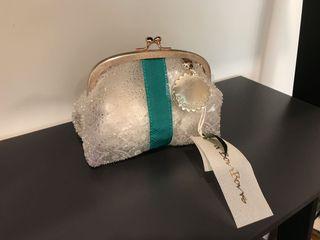日本 Hankyu 購入可愛半透明手拿包