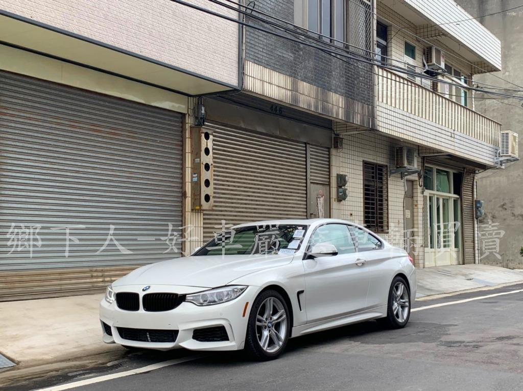 BMW 2015年428I COUPE 白2.0