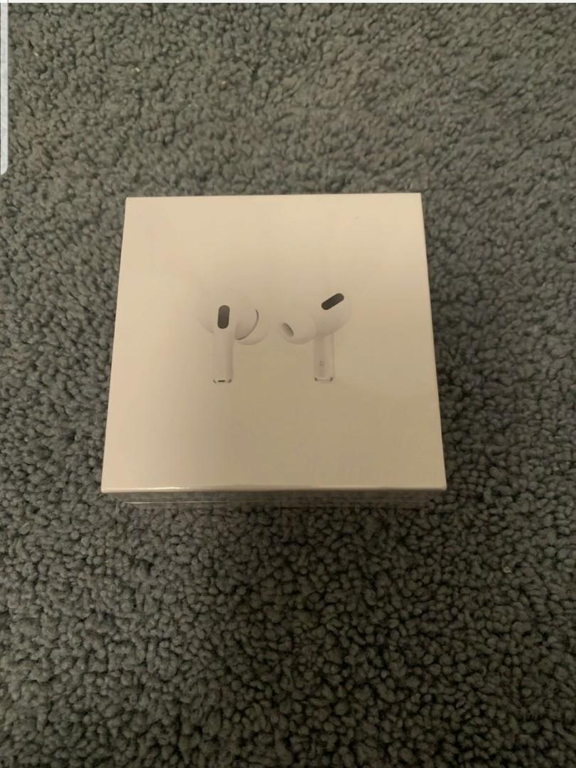 Brand New & Sealed Apple Airpod Pros - White