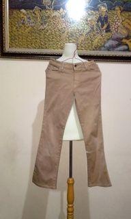 Brownn Hipster Pants