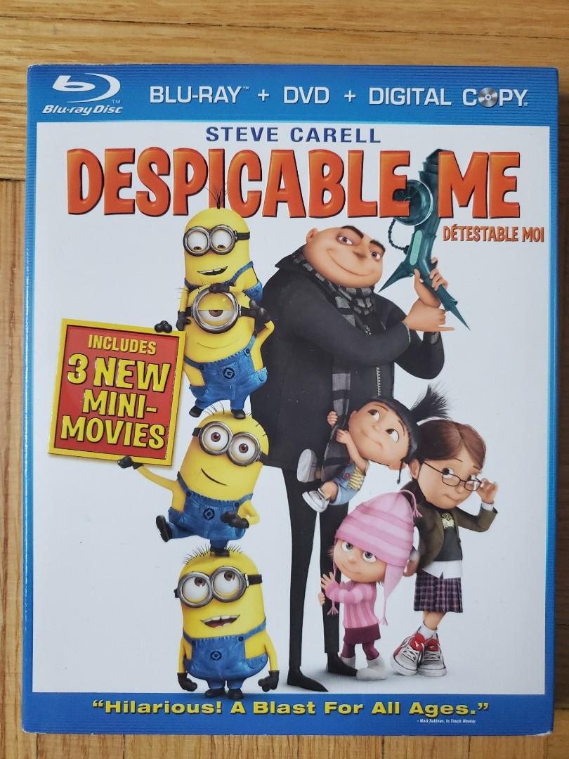 Despicable Me DVD/ Blu Ray Combo