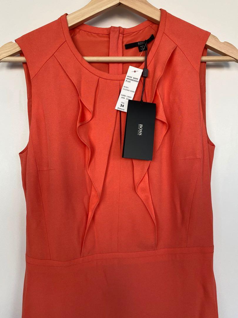 Hugo Boss Dilenka Dress. Size 34. Brand new