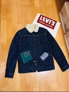 (Soldout售出🔥)Levi's Made And Crafted type 2 jacket丹寧刷毛外套Sherpa/寬版女性也適穿