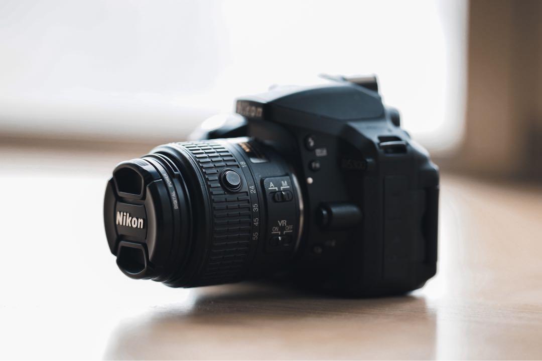 Nikon D5300 + Nikkor 18-55mm f/3.5-5.6G VR II