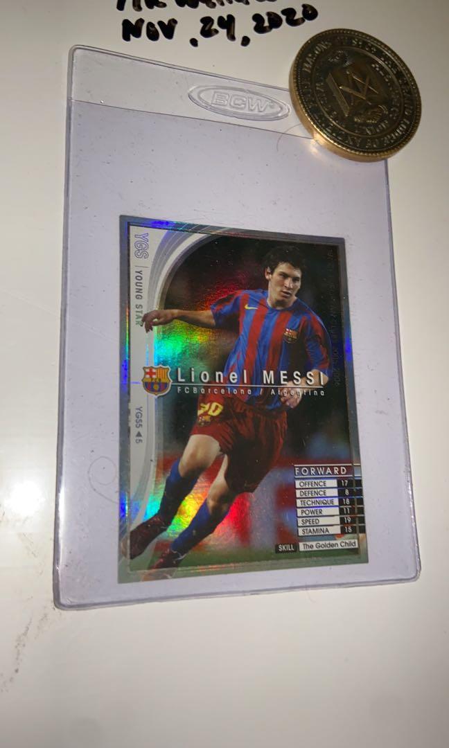 Rare!! Messi Rookie card