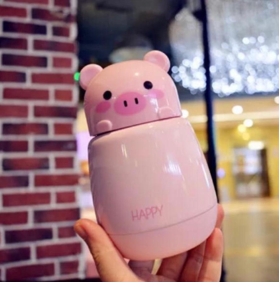 Termos Air Panas Mini Piggy