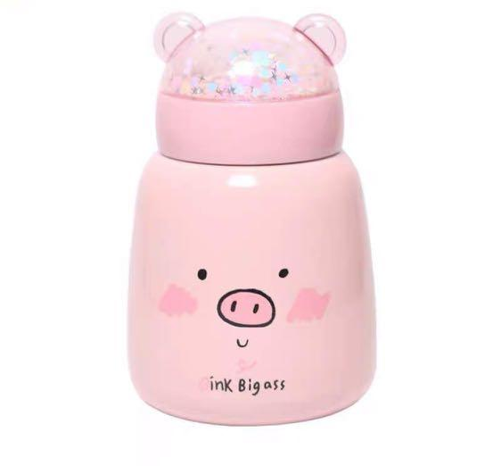 Termos Air Panas Mini Piggy Blink