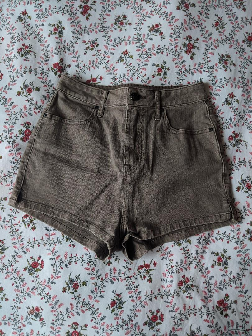 Urban Outfitters Gray High Waisted Shorts (Size 4)